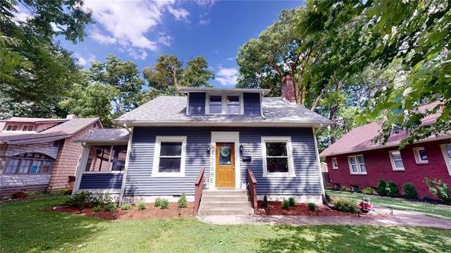 4465 Guilford Avenue, Indianapolis, IN 46205 (MLS #21716731) :: Anthony Robinson & AMR Real Estate Group LLC