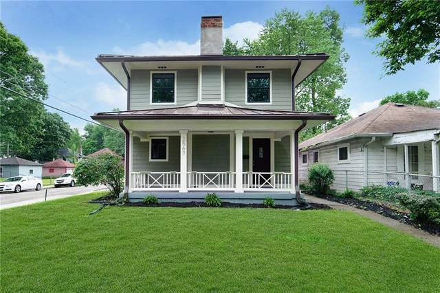 3563 N Carrollton Avenue, Indianapolis, IN 46205 (MLS #21716736) :: David Brenton's Team