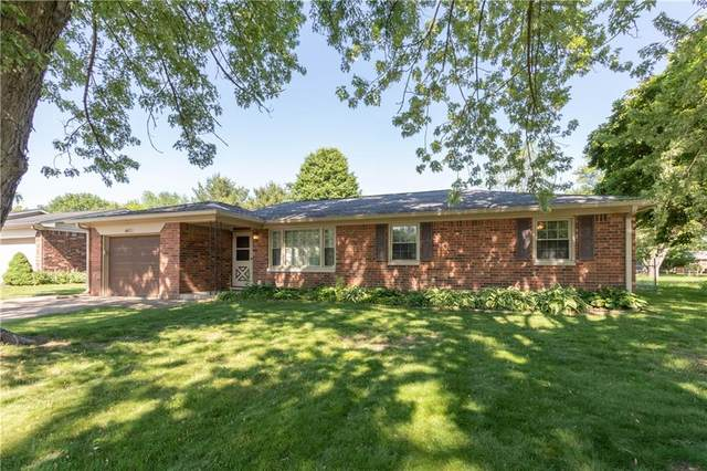 4421 Wilshire Drive, Brownsburg, IN 46112 (MLS #21716745) :: The Indy Property Source