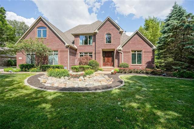 4451 S Greyhawk Lane, Greenfield, IN 46140 (MLS #21716778) :: Mike Price Realty Team - RE/MAX Centerstone