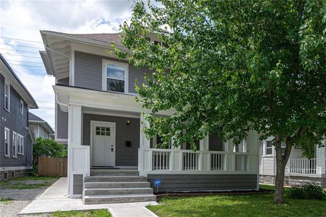 3106 N Capitol Avenue, Indianapolis, IN 46208 (MLS #21716791) :: The ORR Home Selling Team