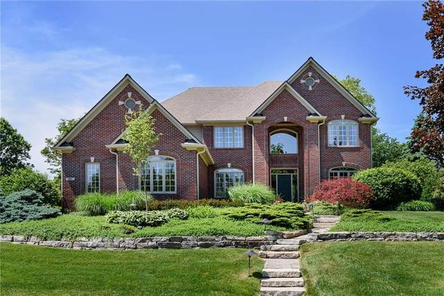 7461 Fox Hollow Ridge, Zionsville, IN 46077 (MLS #21716823) :: David Brenton's Team