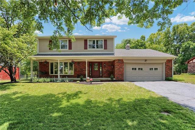 2731 Oglethorpe Court, Indianapolis, IN 46268 (MLS #21717075) :: Anthony Robinson & AMR Real Estate Group LLC