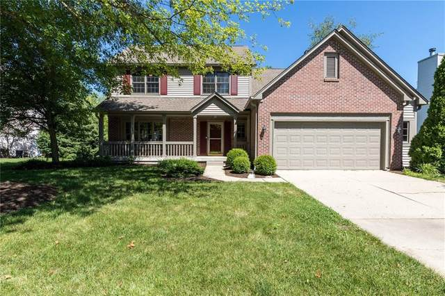11030 Lucia Court, Fishers, IN 46037 (MLS #21717083) :: The Indy Property Source