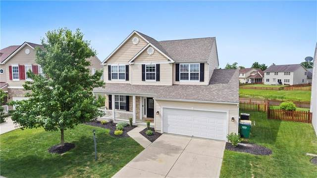 12143 Carriage Stone Drive, Fishers, IN 46037 (MLS #21718135) :: Anthony Robinson & AMR Real Estate Group LLC