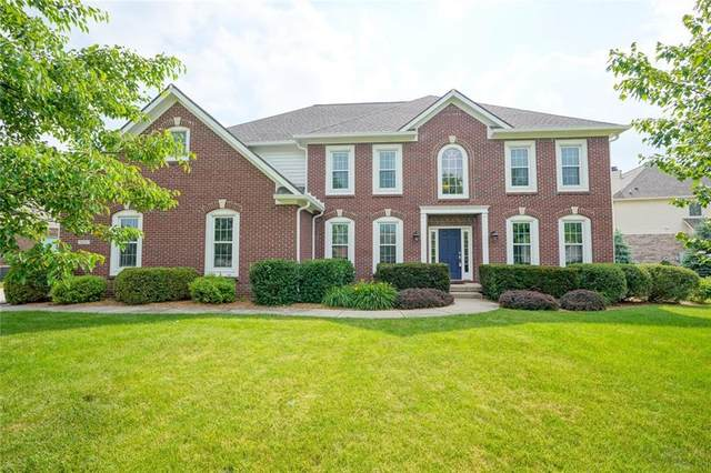 3835 Steeplechase Drive, Carmel, IN 46032 (MLS #21718224) :: Mike Price Realty Team - RE/MAX Centerstone