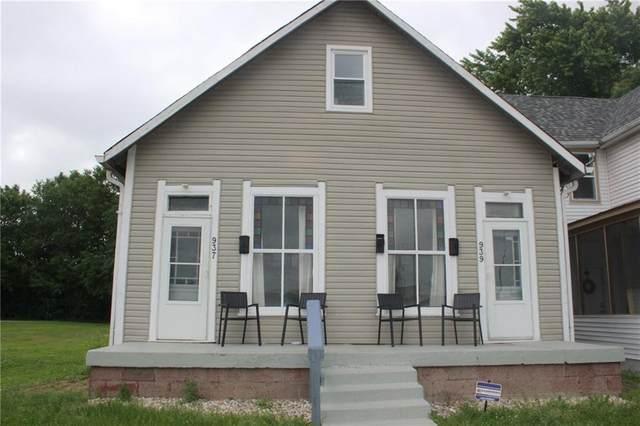939 S Church Street, Indianapolis, IN 46225 (MLS #21718299) :: David Brenton's Team