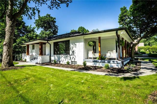 4510 N Illinois Street, Indianapolis, IN 46205 (MLS #21718422) :: Anthony Robinson & AMR Real Estate Group LLC