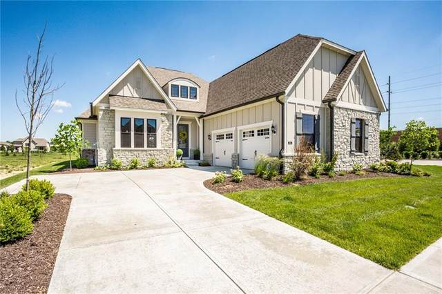 406 Heritage Terrace Lane, Carmel, IN 46032 (MLS #21718484) :: Richwine Elite Group