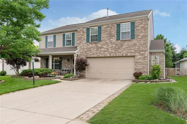 12273 Carriage Stone Drive, Fishers, IN 46037 (MLS #21718530) :: Anthony Robinson & AMR Real Estate Group LLC