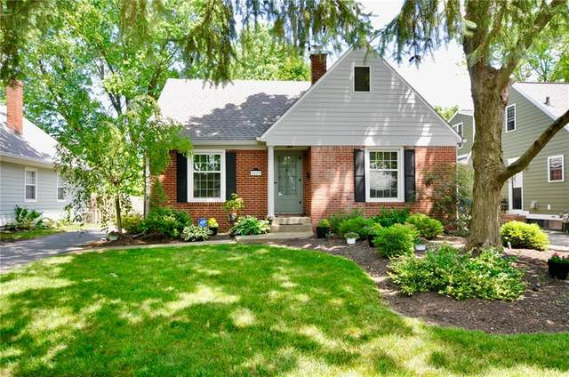 5829 Crittenden Avenue, Indianapolis, IN 46220 (MLS #21718637) :: Anthony Robinson & AMR Real Estate Group LLC