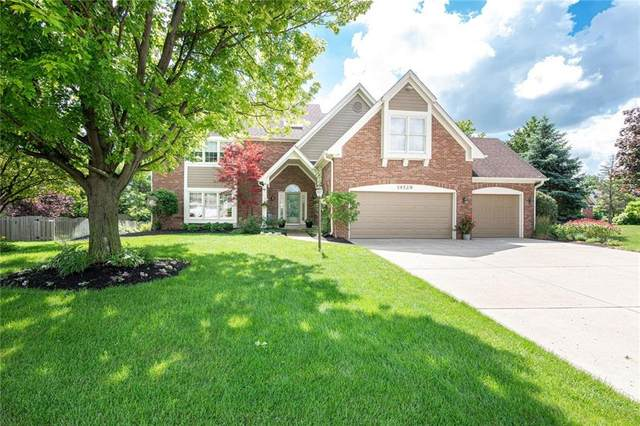 14529 Norwalk Drive, Carmel, IN 46033 (MLS #21718904) :: The Indy Property Source