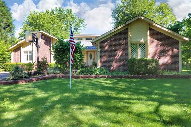 8820 Swiftsail Circle, Indianapolis, IN 46256 (MLS #21718981) :: David Brenton's Team