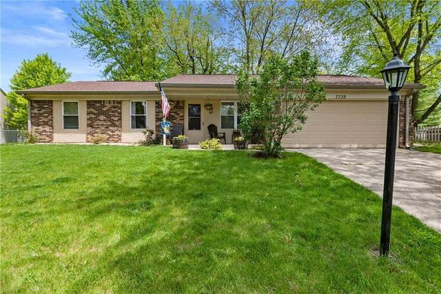 7739 Opelika Court, Indianapolis, IN 46217 (MLS #21719145) :: Mike Price Realty Team - RE/MAX Centerstone