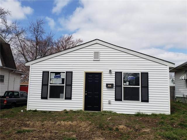 3610 E Vermont Street, Indianapolis, IN 46201 (MLS #21719202) :: The ORR Home Selling Team