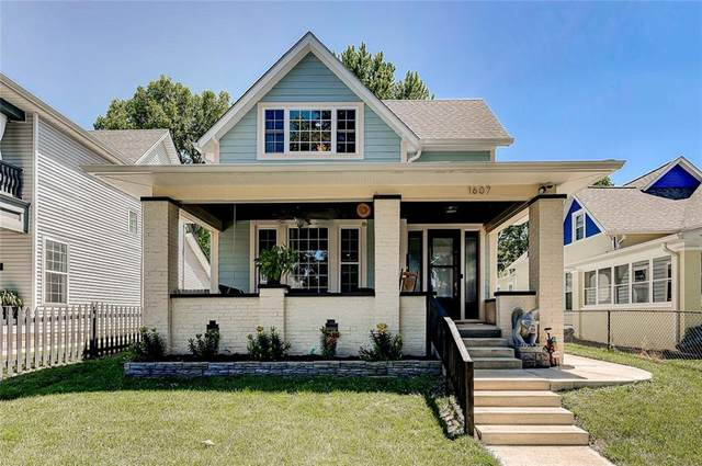 1607 Pleasant Street, Indianapolis, IN 46203 (MLS #21719206) :: Anthony Robinson & AMR Real Estate Group LLC