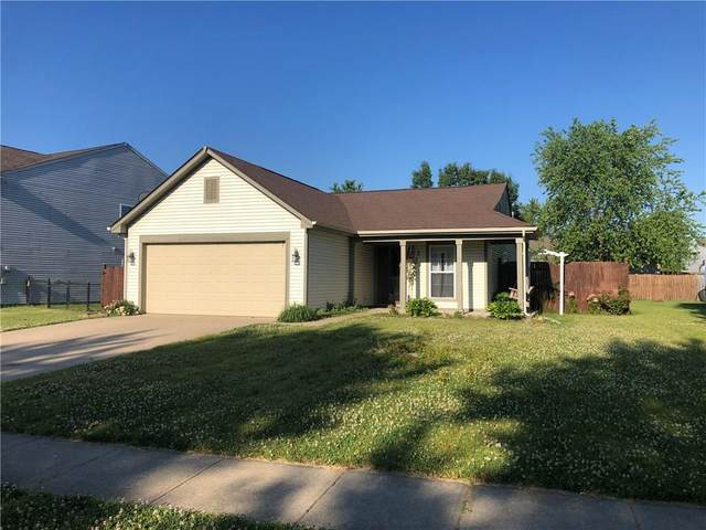 5874 Glen Haven Boulevard, Plainfield, IN 46168 (MLS #21719349) :: The Indy Property Source