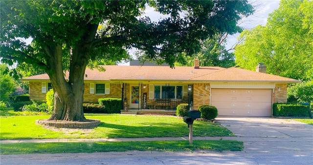 540 W Hill Valley Drive, Indianapolis, IN 46217 (MLS #21719366) :: The Indy Property Source
