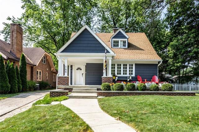 145 Berkley Road, Indianapolis, IN 46208 (MLS #21719376) :: The Indy Property Source