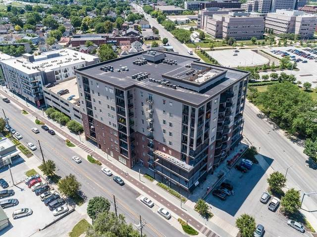 435 Virginia Avenue #605, Indianapolis, IN 46203 (MLS #21719431) :: Anthony Robinson & AMR Real Estate Group LLC