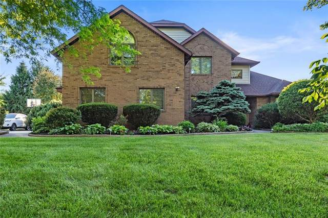 501 S Riviera Lane, Yorktown, IN 47396 (MLS #21719437) :: The Indy Property Source