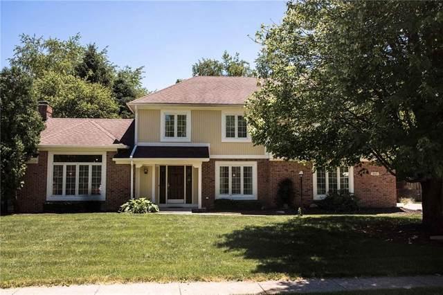 1843 Arrowwood Drive, Carmel, IN 46033 (MLS #21719483) :: The Indy Property Source