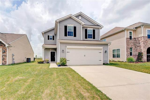 4014 Poplar Drive, Whitestown, IN 46075 (MLS #21719575) :: Anthony Robinson & AMR Real Estate Group LLC
