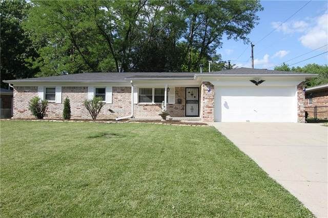 309 Hopkins Road, Cumberland, IN 46229 (MLS #21719695) :: Richwine Elite Group