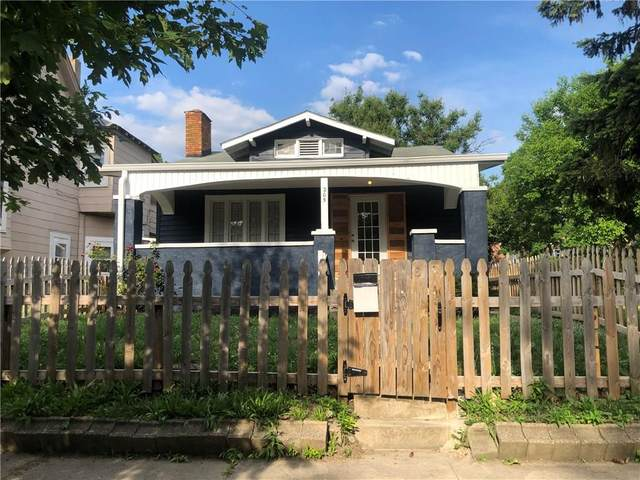 205 Eastern Avenue, Indianapolis, IN 46201 (MLS #21719875) :: Mike Price Realty Team - RE/MAX Centerstone
