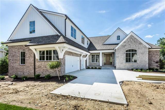 301 Beechwood Farm Lane, Indianapolis, IN 46260 (MLS #21719917) :: Anthony Robinson & AMR Real Estate Group LLC