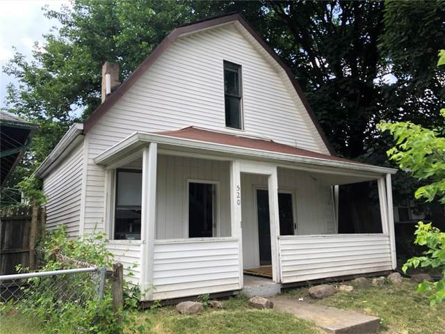 520 N Gladstone Avenue, Indianapolis, IN 46201 (MLS #21719987) :: Anthony Robinson & AMR Real Estate Group LLC