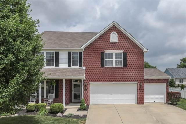 1292 Blue Haven Way, Greenwood, IN 46143 (MLS #21720274) :: The Indy Property Source