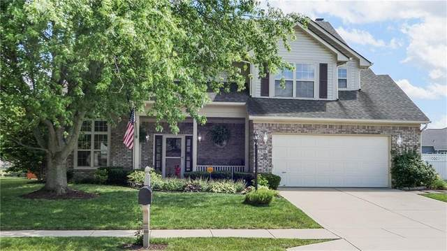 7515 Norma Jean Drive, Indianapolis, IN 46259 (MLS #21720347) :: David Brenton's Team