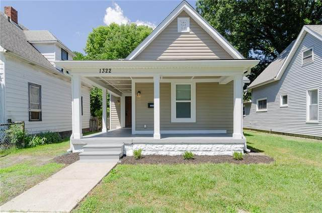 1322 N Tuxedo Street, Indianapolis, IN 46201 (MLS #21720370) :: AR/haus Group Realty