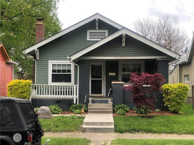 336 N Euclid Avenue, Indianapolis, IN 46201 (MLS #21720412) :: Richwine Elite Group