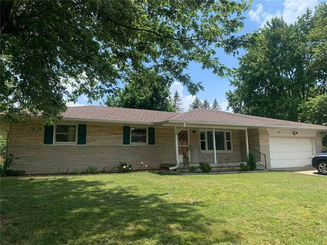 345 Ransdall Court, Indianapolis, IN 46227 (MLS #21720486) :: Anthony Robinson & AMR Real Estate Group LLC