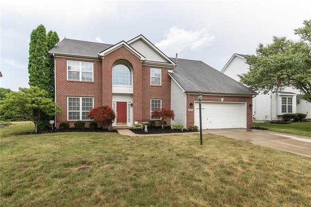 12546 Crystal Pointe Drive, Indianapolis, IN 46236 (MLS #21720540) :: David Brenton's Team