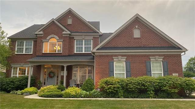376 Kelley Lane, Brownsburg, IN 46112 (MLS #21720646) :: The Indy Property Source