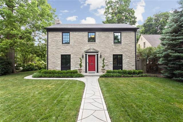 5893 Forest Lane, Indianapolis, IN 46220 (MLS #21720676) :: The Indy Property Source