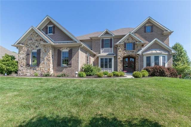 2760 Old Vines Drive, Westfield, IN 46074 (MLS #21720677) :: Anthony Robinson & AMR Real Estate Group LLC