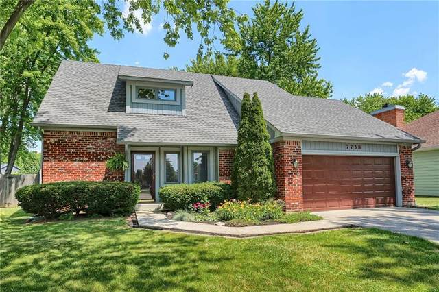 7738 Geist Estates Drive, Indianapolis, IN 46236 (MLS #21720705) :: The Indy Property Source