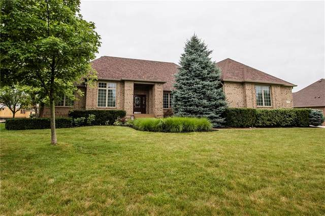 7104 Dickinson Lane, Indianapolis, IN 46259 (MLS #21720829) :: David Brenton's Team