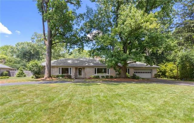 6330 Spring Mill Road, Indianapolis, IN 46260 (MLS #21720835) :: Richwine Elite Group