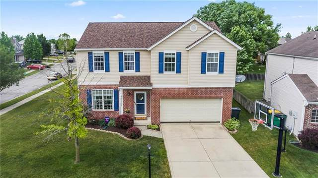 12252 Carriage Stone Drive, Fishers, IN 46038 (MLS #21720870) :: Anthony Robinson & AMR Real Estate Group LLC