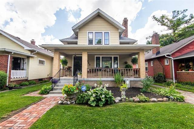 823 N Dequincy Street, Indianapolis, IN 46201 (MLS #21720995) :: Anthony Robinson & AMR Real Estate Group LLC