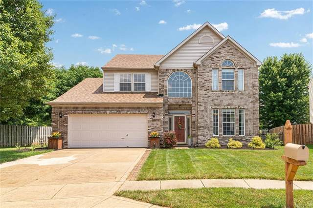 10517 Silver Ridge Circle, Fishers, IN 46038 (MLS #21721005) :: Heard Real Estate Team | eXp Realty, LLC