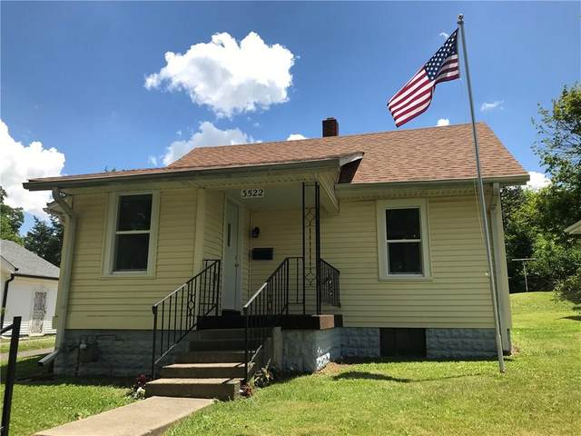 3522 Brown Street, Anderson, IN 46013 (MLS #21721049) :: Anthony Robinson & AMR Real Estate Group LLC
