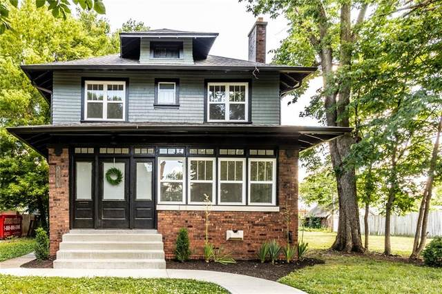 3037 Washington Boulevard, Indianapolis, IN 46205 (MLS #21721105) :: Mike Price Realty Team - RE/MAX Centerstone