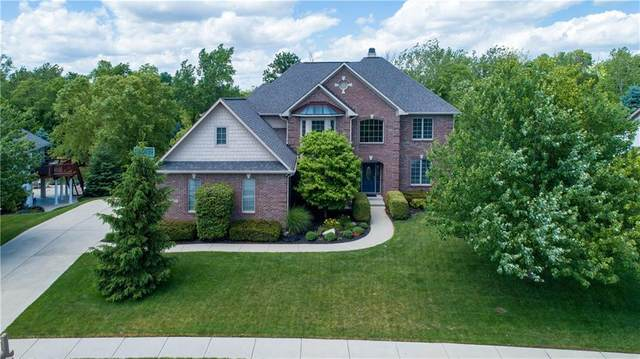 12836 Whitebridge Drive, Fishers, IN 46037 (MLS #21721155) :: Mike Price Realty Team - RE/MAX Centerstone
