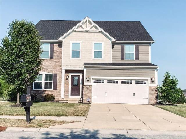 11954 Mannings Pass, Zionsville, IN 46077 (MLS #21721321) :: The Indy Property Source